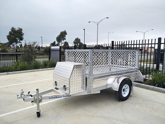 cage trailers our models